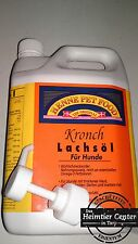 Salmon Oil Henne Pet Food Kronch 2500ml Canister (2,5 Litre) Lachsoil Salmon Oil