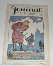 MON JOURNAL Illustré pour les Enfants - 17 septembre 1921 - R de la NEZIERE