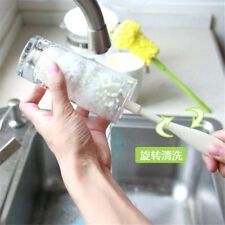 sponge wash cup brush cleaner milk bottle brush easy to clean glass cup brush NH