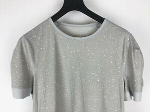 Lululemon Mens Ocean Tech Short Sleeve Crew Shirt Size Large L New RARE