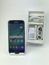 Samsung Galaxy S6 Edge SM-G925I 64GB Black Sapphire GSM Unlocked! Free Shipping!