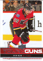 12/13 UPPER DECK YOUNG GUNS ROOKIE RC #209 AKIM ALIU FLAMES *27629
