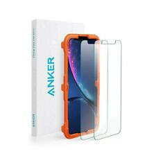 ANKER SCREEN PROTECTOR FOR IPHONE XR 2018 GLASS GUARD TEMPERED 2 PK NEW B7487002