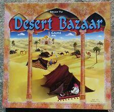 DESERT BAZAAR Mattel Board Game - Excellent! Only Played Once!
