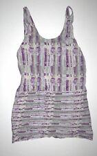 New Hurley Womens Ruffled Runaway Tank Sundress Dress small