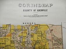 [Map]. Corindhap, County of Grenville. 1890s.