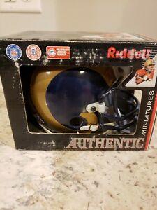 Rare Riddell NFL St. Louis Rams Authentic Mini-Helmet