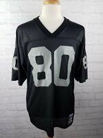 NFL Oakland Raiders Jerry Rice Reebok Football Vintage Jersey Medium M