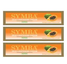 Symba Skin Lightening Cream Papaya 57g Pack of 3