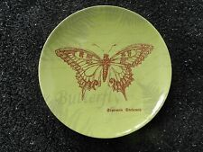 Cracker Barrel Life is a Garden Butterfly Green Snack/Appetizer Plate