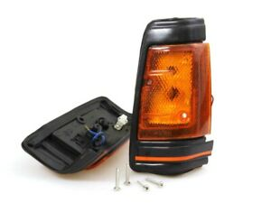 Front Side Signal Light Lamps Pair Fit 1980-1989 Nissan Datsun 720 Pickup UTE