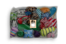 Grab bag CATNIP 24 pieces cat kitty toys value bag
