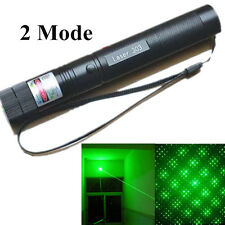 10 Miles Pointeur Laser Militaire Vert Green 1mW 532nm 303 Pen Light+ Star Head