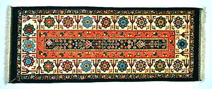 PERSIAN RUG Hand Knotted Traditional 100% Wool Carpet 153 X 63 cm