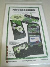 NECESSORIES Sewing Pattern By Annie Mini Bag Double Eyeglass Case Pocket Wallet