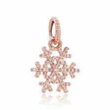Pandora Rose Gold Plated Fashion Necklaces Pendants For Sale Ebay