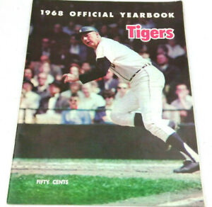 DETROIT TIGERS 1968, YEARBOOK- Collector's Condition