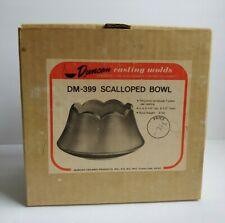 Duncan 1967 Slip Casting Mold DM-399 Scalloped Bowl VERY RARE Ceramic Porcelain