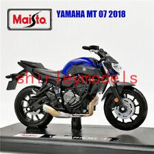 1:18 2018 Yamaha Mt-07 Motorcycle Bike Diecast Model Toy Maisto New In Box