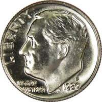 1980 P 10c Roosevelt Dime US Coin Uncirculated Mint State