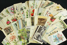 Huge Collection Lot of 170 Hungary Postcards w/Stamps & Better Cancels - Scarce!