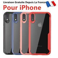 Coque Bumper Pour iPhone 6/7/8/Plus X/XR/XS/11/Pro/Max Anti-choc Anti-Rayure