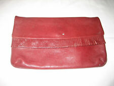 2d99ee154e0f MASSIMO DUTTI HAND BAG SMALL CLUTCH BAG LEATHER FAUX LEATHER UK SELLER
