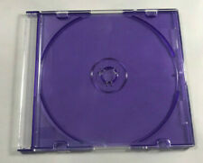 Lot of 50 CD DVD Purple Slim Jewel Case