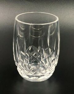 Lismore by Waterford Crystal Shot Glass Toothpick Holder Vintage Etched Hallmark