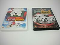 SANTA PAWS 1 AND 2 DVD (GENTLY PREOWNED)