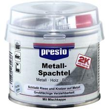 Metallspachtel Presto 250g 443466 Spachtelmasse 2K Polyester Metall Füllspachtel