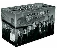 LAW AND ORDER COMPLETE DVD SERIES SEASONS 1-20 104-DISC DELUX BOX SET FAST SHIP