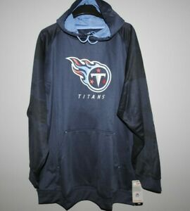 Majestic NFL Tennessee Titans Navy Hooded Therma Base Big & Tall New Mens Sizes