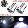 2x 1156 BA15S 382 P21W 6SMD 12V LED COB Car Turn Signal Bulbs Reverse Light Side