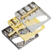 Saddle Bridge Control Plate for Telecaster Tele Style 6 String Electric Guitars