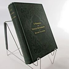 Greek Archaeology Manual Maxime Collignon Antique Hardcover 1886 Victorian