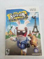Rayman Raving Rabbids 2 - Nintendo Wii  Free Fast Shipping
