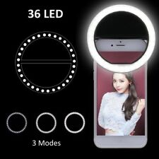 Selfie LED Light Ring Flash Fill Clip Camera Night Using For Mobile Phone Tablet
