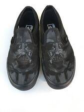 VANS Classic Slip On Star Wars Darth Vader Black Canvas Sneakers Mens Size 9