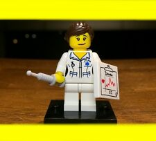 LEGO COLLECTIBLE SERIES 1 NURSE 8683 GENUINE AUTHENTIC MINIFIGURE RARE ORIGINAL