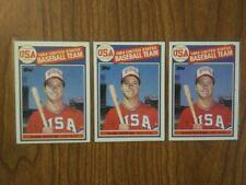 New listing 1985 Topps Baseball Mark McGwire RC Lot of 3