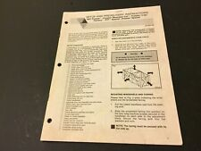 Arctic Cat Snowmobile Setup and Predelivery Instructions '92 Prowler Pantera EXT
