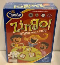 Zingo Bingo with a Zing Game - 2009 New in Box - Sealed