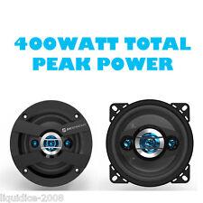 """SCOSCHE 6.5"""" 18CM par 4-WAY coche DASH Estante De Puerta Coaxial Altavoz 400W Max Power"""