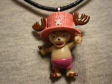 One Piece Chopper Figure Charm Necklace Anime Cute Collectible Novelty Jewelry