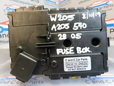 MERCEDES C CLASS FRONT FUSE BOX RELAY POWER BOARD W205 A2055402850 7b13 1/8