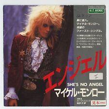 "Michael Monroe (Hanoi Rocks) - She's No Angel c/w Keep it Up 7"" JAPAN PROMO 45"