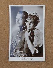 Douglas Fairbanks Jnr & Joan Fontaine Film Partners Real Photograph Postcard xc2