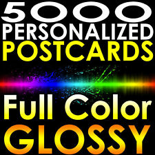 "5000 CUSTOM PRINTED 4x11 EDDM 16pt. Postcards Full Color UV Gloss 4""x11"" MAILERS"