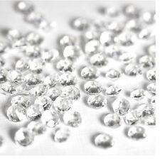 2000pcs Crystals Diamond Scatter Table Confetti Party Wedding Decor Clear